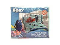 [ディズニー ピクサー]Disney Pixar Disney/Pixar Finding Dory Splashy 3 Piece Sheet Set, Twin JF27161CD [並行輸入品]