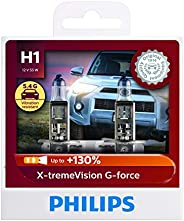 Philips 12258XVGS2 H1 XtremeVision G Force Headlight Globe Twin Pack