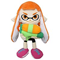 Sanei SP01 Splatoon Series Female Inkling Stuffed Plush, 9' [並行輸入品]