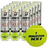 ブリヂストン [BRIDGESTONE] NX1 1箱(1缶4球入/15缶/60球※5ダース)練習球(ITF公認球)