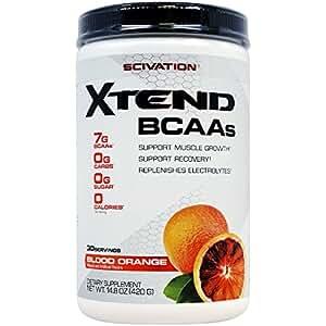 Scivation (サイベーション) エクステンド BCAA+ ブロッドオレンジ】14.8 oz [並行輸入品]