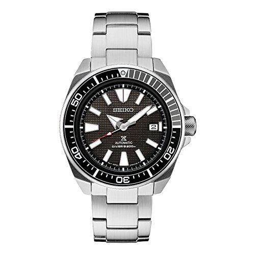 セイコープロスペック サムライ ステンレススチール 自動巻腕時計 200メーターSRPB51