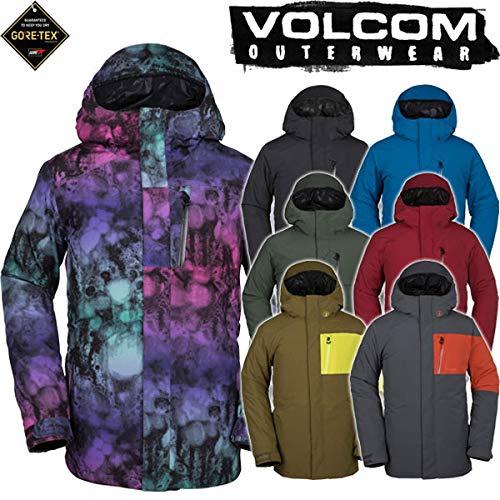 18-19 VOLCOM/ボルコム L GORE-TEX jacket メンズ スノーウェア ゴアテックス ジャケット スノーボードウェ...