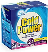 Cold Power Advanced Clean, 2 in 1 Powder Laundry Detergent, 900g, Suitable for Front and Top Loaders