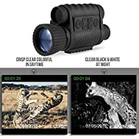 Digital Night Vision Monocular Zoom Photo Video Camera TFT 720P Video 350m Distance Night Watching Observation