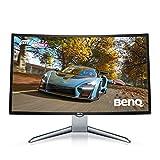 BenQ 31.5インチ湾曲 144Hz ゲーミングモニター EX3200R (FullHD/ノングレア/VAパネル/16:9/1800R曲面/FreeSync/ゲームモード搭載/高さ調整可)