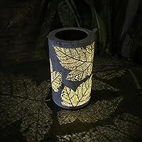 inverleeソーラーガーデンライト防水ガーデン風ランプ夜ランプ庭芝生ライト L