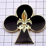 限定 レア ピンバッジ フランス革命クローバー百合の紋章 ピンズ フランス
