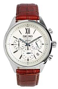 [セイコーimport]SEIKO 腕時計 ウォッチ 海外モデル SSB157P1 クロノグラフ 100M防水 スモールセコンド メンズ【逆輸入品】