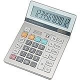 シャープ 実務電卓 グリーン購入法適合モデル セミデスクトップタイプ 12桁 EL-S752KX