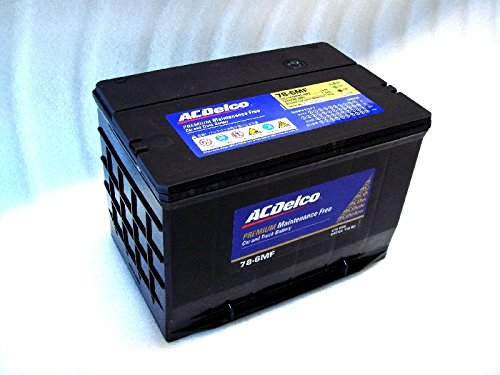 ACデルコ製 バッテリー (サイドターミナル) #78-6MF シボレー アストロ・サファリ・サバーバン・タホ・C-1500・エクスプレス・サバナ・キャデラック・カプリス・など