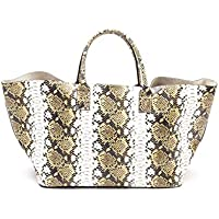 Avenue 67 Women's UE301A002158 Yellow Leather Tote