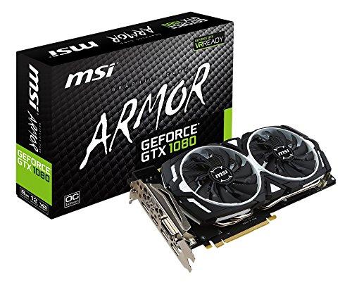 MSI GeForce GTX 1080 ARMOR 8G OC グラフィックスボード VD6193