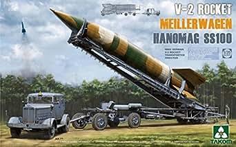タコム 1/35 第二次世界大戦 ドイツ軍 V2ロケット & ロケット運搬/発射台兼用車メイラーワーゲン & ハノマーグSS100トラクター プラモデル TKO2030