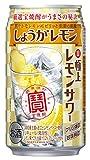 宝酒造 極上レモンサワー しょうがレモン×24本