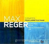 Clarinet Sonatas by MAX REGER (2009-07-14)