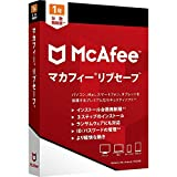 マカフィー リブセーフ 最新版 (台数無制限 1年用) ウィルス対策 セキュリティソフト 何台でもインストール可能 [パッケージ版] Win Mac iOS Android対応