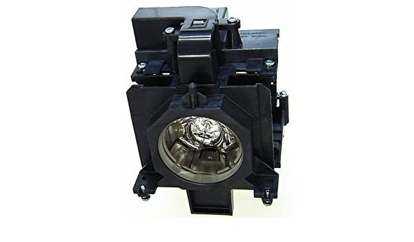 Projector Lamp Assembly with Genuine Original Ushio Brand NSHA Bulb Inside. LC-XL200AL Eiki Projector Lamp Replacement