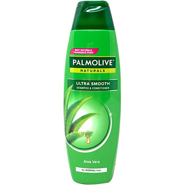 Amazon Co Jp Lot Of 2 Palmolive Naturals Shampoo Conditioner 2 In 1 Healthy Smooth For Normal Hair 180ml Pk Total 360ml By Palmolive Naturals Beauty