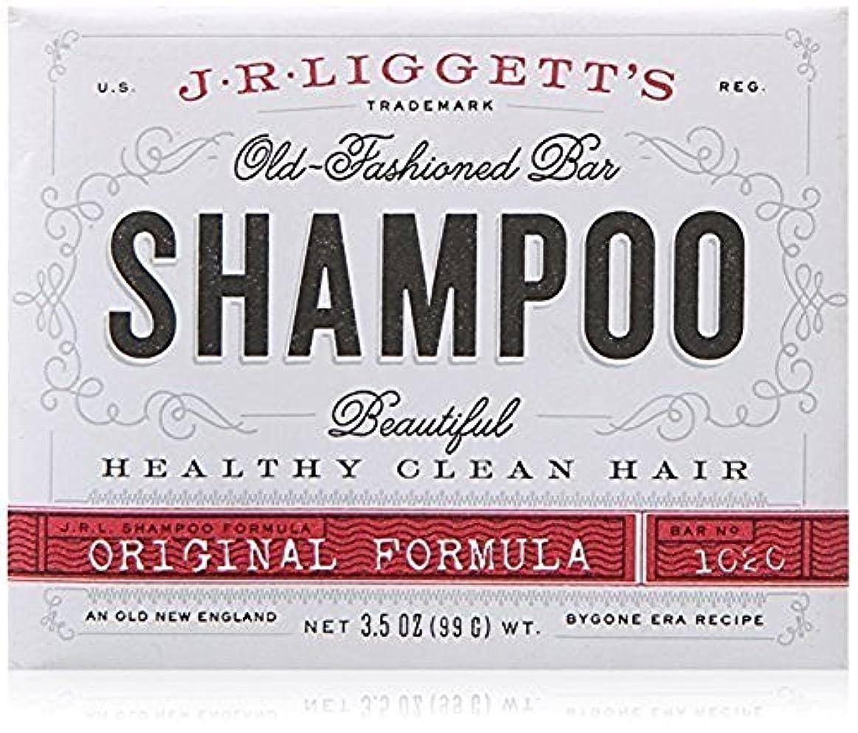 緑アブストラクト心理学x J.R.Liggett's Old-Fashioned Bar Shampoo The Original Formula - 3.5 oz by J.R. Liggett