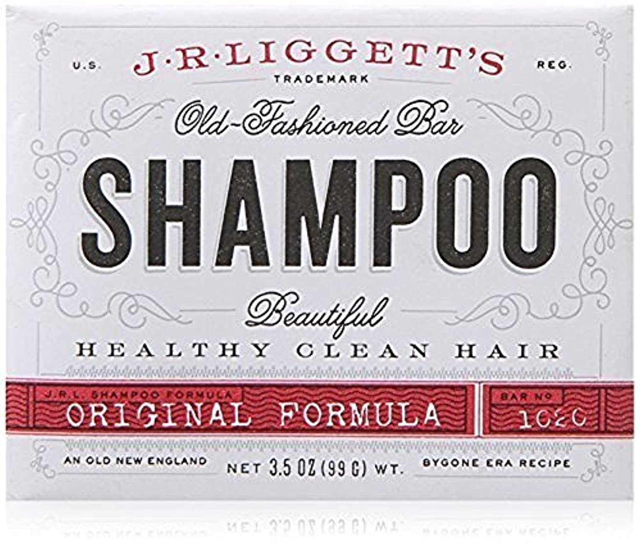 推進力自己いろいろx J.R.Liggett's Old-Fashioned Bar Shampoo The Original Formula - 3.5 oz by J.R. Liggett