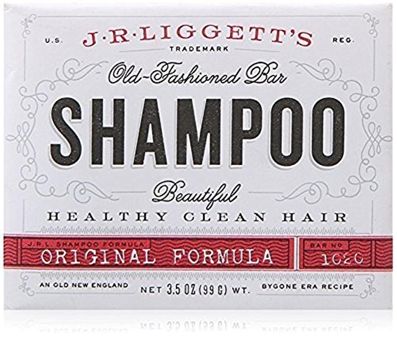 戸棚地質学警察署x J.R.Liggett's Old-Fashioned Bar Shampoo The Original Formula - 3.5 oz by J.R. Liggett