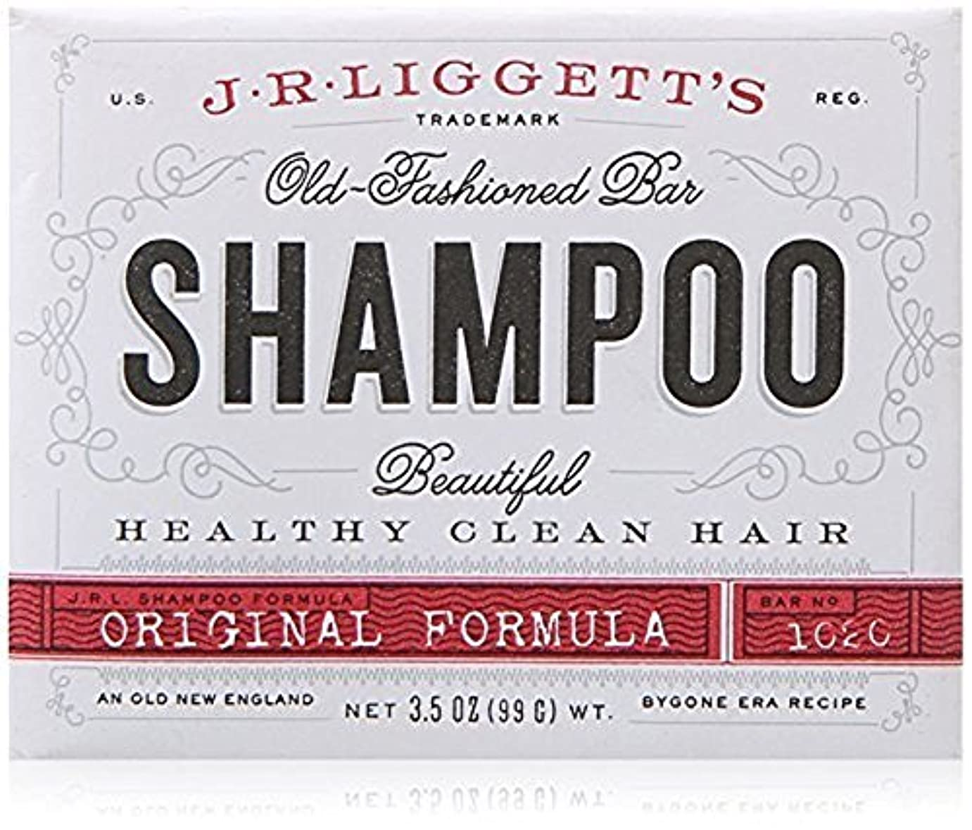 超高層ビル違反する法的x J.R.Liggett's Old-Fashioned Bar Shampoo The Original Formula - 3.5 oz by J.R. Liggett