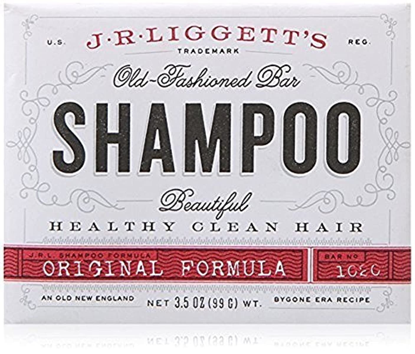 刑務所逸話マインドフルx J.R.Liggett's Old-Fashioned Bar Shampoo The Original Formula - 3.5 oz by J.R. Liggett