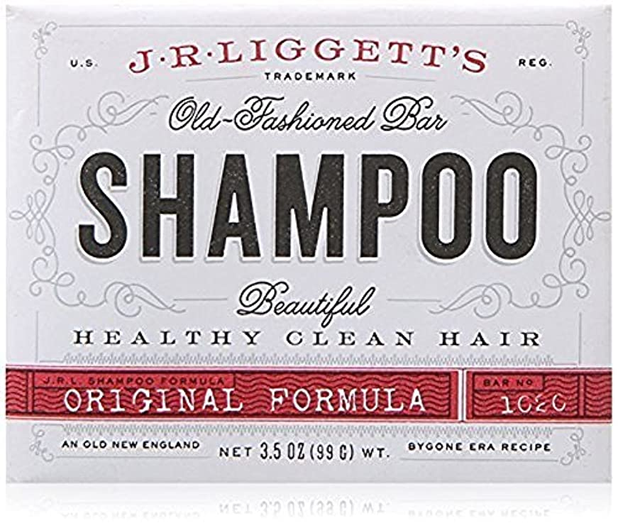 洋服医学ラブx J.R.Liggett's Old-Fashioned Bar Shampoo The Original Formula - 3.5 oz by J.R. Liggett