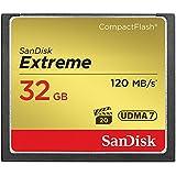 SANDISK CF32GB EXTREME 800倍速(R=120MB/s W=85MB/s) 英語パッケージ SDCFXSB-032G-G46