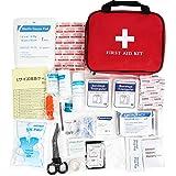 Bagerly 救急セット サバイバルグッズ ファーストエイドキット 救急箱 家庭 アウトドア 外傷用 81-124点
