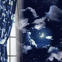 窓美人 セレナーデ 1級遮光 裏地付き2重カーテン 断熱 保温 形状記憶 幅100×丈210cm 2枚組
