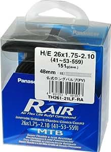 パナレーサー チューブ R'AIR [H/E 26x1.75~2.10] 仏式バルブ(34mm) TH261-21F-RA
