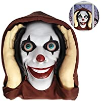 Scary Peeper Halloween prop - Lenticular Eyed Clown by Razzle Dazzle Celebrations