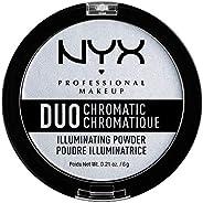 NYX Professional Makeup Duo Chrmtc Illuminating Powder - Twilight Tint