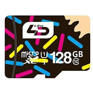 LD microSDXC 128GB UHS-I超高速対応 30年保証 microSDカード Class10 Memory Card カーナビ・スマホ・タブレット対応 128G TF Card [並行輸入品]