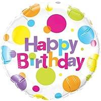 Birthday Big Polka Dots Foil Balloon 誕生日ビッグポルカドットホイルバルーン?ハロウィン?クリスマス?