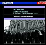 モーツァルト:ディヴェルティメント第17番・第1番 画像