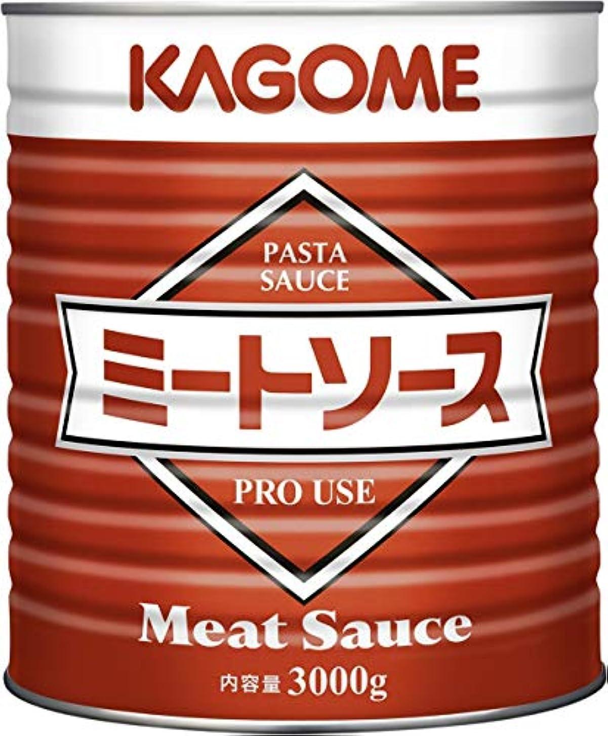 暗いカニ知事カゴメ ミートソース 1号缶 3kg