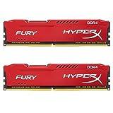 キングストン Kingston デスクトップ オーバークロックPC用メモリ DDR4-2666 16GBx2枚 HyperX FURY CL16 1.2V HX426C16FRK2/32 永久保証