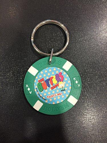 ◎サウスパークSouth Parkポーカーチップ型キーリング『THE BUTTERS SHOW GR』poker・キーチェン・アメリカン雑貨
