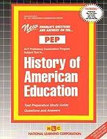 History of American Education (Act Proficiency Examination Program)