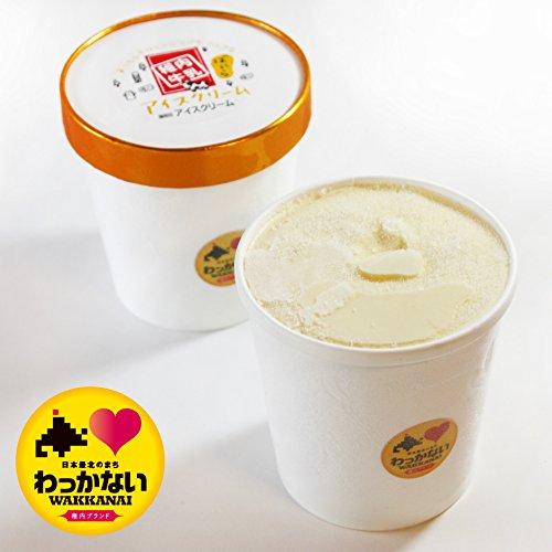 活彩 北海道 稚内牛乳 牧場 アイスクリーム ばにら 大カップ 470ml 稚内 ブランド