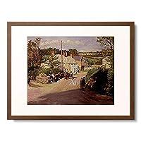 Forbes, Stanhope Alexander,1857-1947 「Dorfszene in Cornwall. 1925.」 額装アート作品