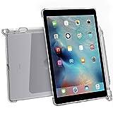 iPad Pro 9.7 ケース Poetic -[Clarity Series]- アップル 9.7型 アイパッド プロ 対応 [ウルトラスリム] [TPU製 ケース] Smart Keyboard 対応 Apple Pencil 収納スロット付き クリスタルクリア