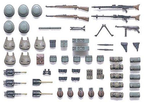 1/35 ミリタリーミニチュアシリーズ ドイツ歩兵装備品A