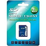 スーパータレント SDメモリーカード 2GB ST02SD