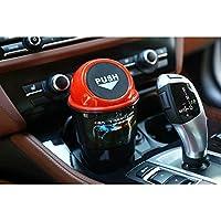 赤:フォルクスワーゲンBMW E46 E39ミニクーパーアウディA4 B6 B8 A5フォードフィエスタ久我アクセサリー用ZD 1PCSカーゴミ収納ボックスオーガナイザー