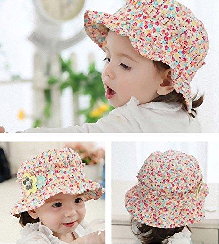 キッズ ベビー 帽子 かわいい 花柄 1歳 2歳 おしゃれ お出かけ 長く使える