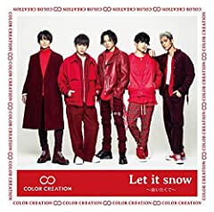 Let it snow 〜会いたくて〜♪COLOR CREATIONのCDジャケット